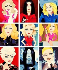 Madonna.What's your favourite?