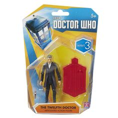 Doctor Who Series 3 Series 8 Twelfth Doctor Action Figure