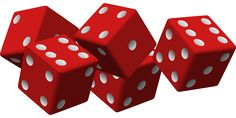 Free vector graphic: Dice, Game, Luck, Gambling, Cubes - Free ...