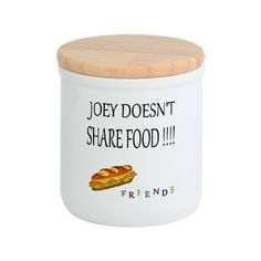 Joey doesn't share food from #Friends Tv Gifts Cookie Jar
