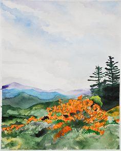 watercolor mts