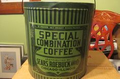 Sears Special Combination Coffee 10lbs.