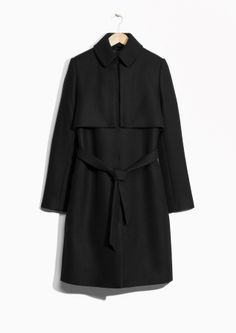 & Other Stories   Wool Trench Coat