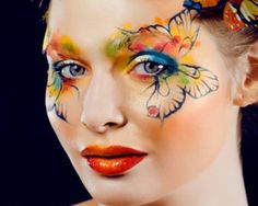 Simple Face Painting Designs