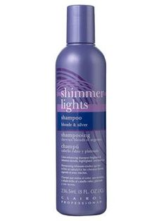 Whenever I have blonde highlights in my hair, I always swear by this and the conditioner, really does work on the brassy color and makes highlights look fresh!