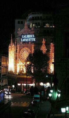 Galeries Lafayette, Paris!