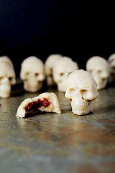 Skull Crushers Candy -  20 Vegan Halloween Treat Recipes That Are So Delicious, It's Scary