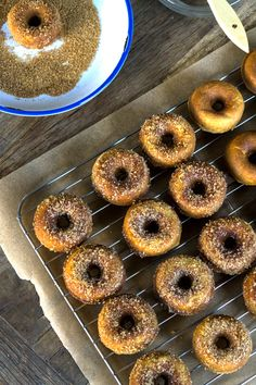 Gluten Free Pumpkin Donuts - Gluten-Free on a Shoestring