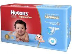 Fralda Huggies Turma da Mônica - Supreme Care Meninos M - 80 Unidades com as…