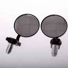 Universal Motorcycle Bar End Side Mirrors Handlebar NEW (Left & Right) the other option for mirrors, Left And Right, Bobber, Mirrors, Motorcycle, Bar, Motorcycles, Mirror, Motorbikes, Choppers