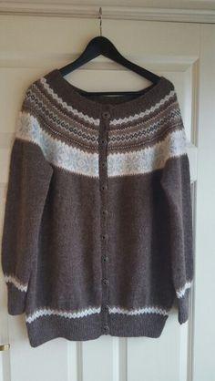 Nancykofte, Norwegian knitting
