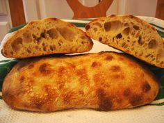 Sourdough Ciabatta's @ The Fresh Loaf