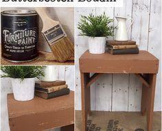 No Prep Furniture Paint ~ Butterscotch Boudin