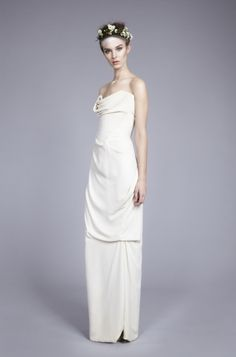 Delicate Drape Dress Vivienne Westwood Online Cheap Authentic HJG5ufM