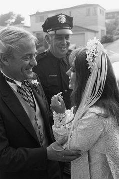 Natalie Wood's wedding to Richard Gregson 05-30-1969