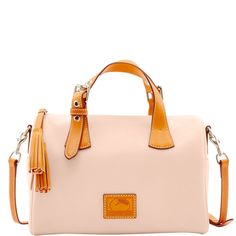 Cross Body Satchel, Travel Shoes, Beautiful Bags, Leather Handle, The Ordinary, Dooney Bourke, Pebbled Leather, Bag Accessories, Shoulder Bag