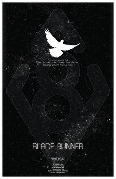 Blade Runner Science Fiction Cult Movie Poster  by TheGeekerie