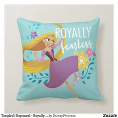 Customizable Throw Pillow made by Zazzle Home. Personalize it with photos & text or shop existing designs! Rapunzel Room, Tangled Rapunzel, Disney Tangled, Tangled Room, Disney Princess, Custom Pillows, Decorative Pillows, Rapunzel Characters, Cricut