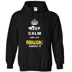 Keep Calm And Let GORECKI Handle It - #tee aufbewahrung #tshirt organization. WANT IT => https://www.sunfrog.com/Names/Keep-Calm-And-Let-GORECKI-Handle-It-5230-Black-Hoodie.html?68278