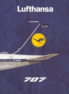 Lufthansa 707 www.facebook.com/VintageAirliners