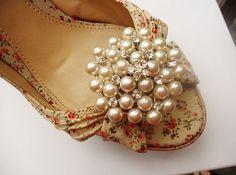 Un hermoso aplique de perlas