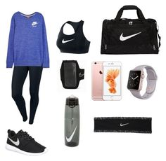 """""""dance"""" by fashionrandom ❤ liked on Polyvore featuring NIKE, women's clothing, women, female, woman, misses and juniors"""