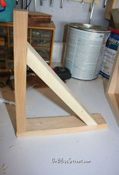build a simple shelf bracket for any space from scrap wood, how to, repurposing upcycling, shelving ideas, storage ideas, woodworking projects