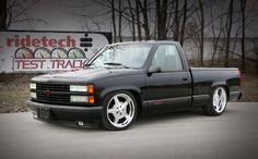 Custom Chevy Trucks, Chevy Pickup Trucks, Lifted Ford Trucks, Gm Trucks, Chevy Pickups, Custom Cars, 1994 Chevy Silverado, Silverado Truck, Chevrolet Ss