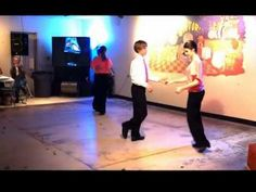 Shag Dance routine Southern Fried with Junior Pride - YouTube