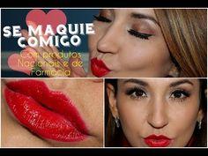 Se Maquie Comigo ✿ Maquiagem Completa (Neutra com batom vermelho)