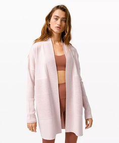 athletic apparel + technical clothing | lululemon Sweater Sale, Wrap Sweater, Sweaters For Women, Women's Sweaters, Lululemon, Duster Coat, Kimono Top, Wraps, How To Wear