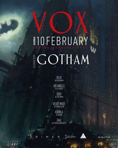 #VOX - #GOTHAM #CITY #MASQUE #PARTY https://www.goout.gr/blog/vox-masque-party-gkazi-iera-odos-athina