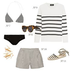 Nautical Stripes & the South of France - This is Glamorous