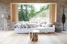 Wohnzimmer mit herrlichen Blick in die Landschaft von Kärnten