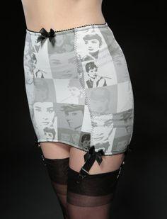 Black & White - 50er Jahre Halter - Vintage-Style - Ars-Vivendi