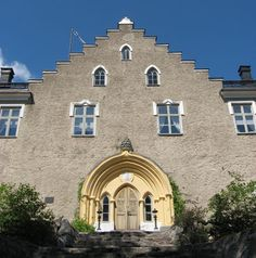 The Suitia Manor dates back to the century; it became a manor in The… Gothic Elements, Finnish Language, Romantic Images, Medieval Castle, Gothic Architecture, Old Buildings, 15th Century, Helsinki, Villas