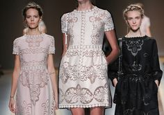 Pretty lace. Valentino Spring/Summer collection 2012