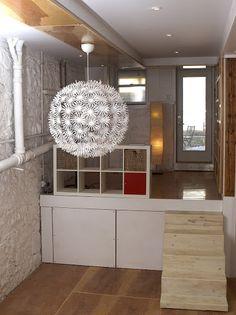 Urban Apartment, Apartment Design, Chandelier, Ceiling Lights, Lighting, Home Decor, Room Decor, Ceiling Lamp, Chandeliers