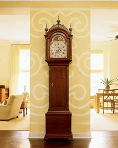 I just love grandfather clocks.
