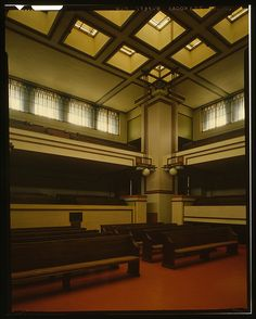 UnityTemple Frank lloyd Wright Unity Temple3 | The Library o… | Flickr