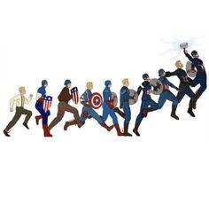 Captain America Character Development – Avengers Endgame - Farm Tutorial and Ideas Marvel Dc Comics, Marvel Avengers, Marvel Jokes, Marvel Funny, Thanos Marvel, Die Rächer, Dc Memes, Steve Rogers, Marvel Heroes