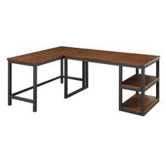 Coaster Furniture 801241-801242 Marple Industrial L Shape Desk