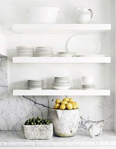 Znalezione obrazy dla zapytania półki w kuchni