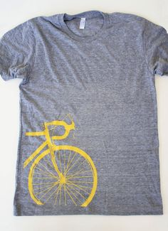 Road Bike Tshirt (Mens) - Boomerang 360