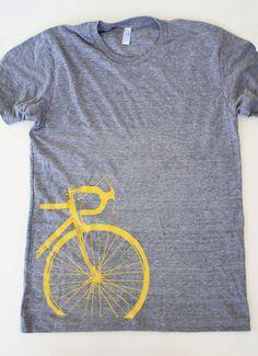 Road Bike Tshirt Mens by Boomerang360 on Etsy, $25.00
