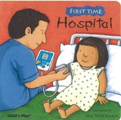 """Pinner said: """"Great read if your child needs to be hospitalized.  Also a great idea to read to your kids in the event they have to go to the hospital so they know we are here to help!"""""""