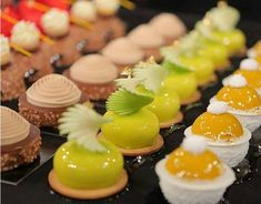 Dessert expert Yigit Pura gives us the scoop on his favorite sources of inspiration. Gourmet Desserts, Fancy Desserts, Just Desserts, Delicious Desserts, Dessert Recipes, Plated Desserts, Mini Pastries, French Pastries, Bon Dessert