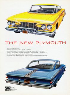 Plymouth Poster (1961)
