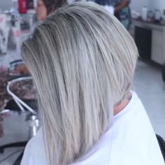 Fresh hair transformation to blonde:? By: Fresh hair transformation to blonde:? Ash Gray Hair Color, Grey Hair Wig, Black And Grey Hair, Brown Blonde Hair, Lace Hair, Grey Hair Over 50, Grey Hair Looks, Grey Blonde, Ash Grey