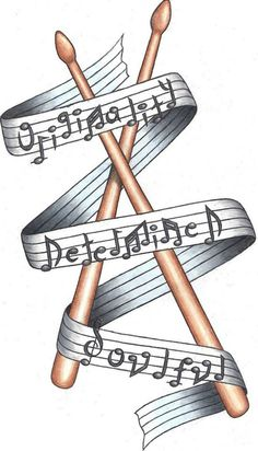 Music Drawings, Tattoo Drawings, Drummer Tattoo, Drum Drawing, Drum Lessons For Kids, Drums Art, Drum Music, Music Tattoos, Drum Kits